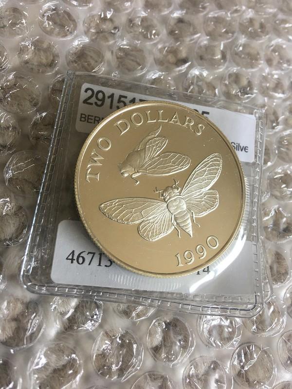 Bermuda cicada coin