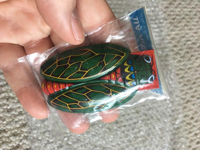 Cicada click toy