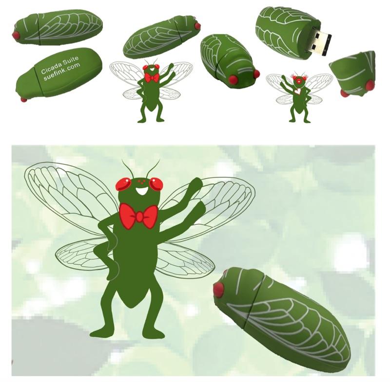 Sue's Cicada Songs